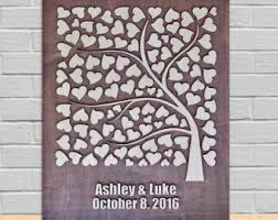tree signing for wedding wedding signing tree etsy