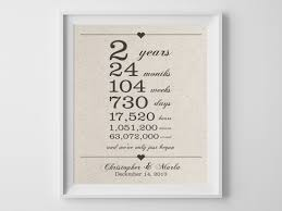 2 year wedding anniversary gifts for him 2nd anniversary gift cotton anniversary gift for husband 2nd
