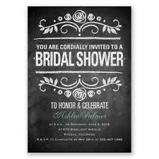 wedding shower invitation chalkboard bridal shower invitation invitations by