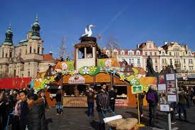 easter markets in prague
