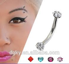 Eyebrow Piercing Without Jewelry Stainless Steel Jewelry Eyebrow Piercing Buy