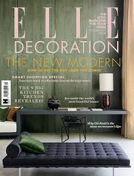 Home Decor Magazines South Africa Elle Decoration Back Issue Magazine Hearst Magazines Subscriptions
