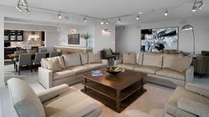 Track Lighting In Living Room   living room contemporary living room chicago by fredman