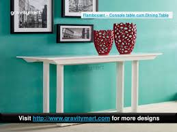 Teal Dining Table Folding Dining Tables To Coffee Table Or Console Table