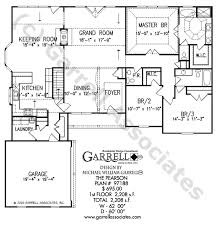 House Plans With Keeping Rooms Pearson House Plan House Plans By Garrell Associates Inc