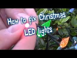 two tone mini christmas lights how to fix led christmas lights youtube