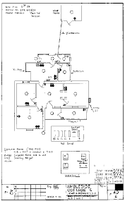 sample cottage electrical drawing image