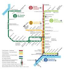 New Orleans Airport Map by Getting To And From Collision Need To Know Transport Information