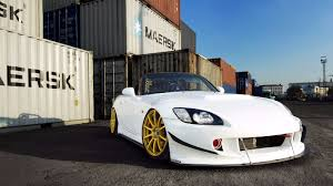 Honda S2000 Price Range Honda S2000 Tuning White Car Gold Wheels Front Hd Wallpaper My