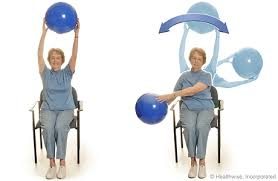 Chair Exercises For Seniors Exercising While Sitting Down Topic Overview