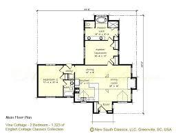 cottage homes floor plans trendy one bedroom cottage house plans 2 bedroom cottage home plans