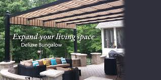 retractable pergola canopies awnings