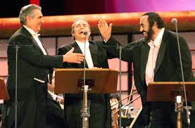 with the three tenors pavarotti in pictures the 18 most iconic