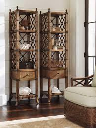 Bali Hai Atlantis Rattan Etagere Tommy Bahama Furniture - Tommy bahama style furniture