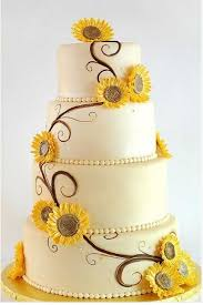 20 best sunflower wedding cake ideas for summer season modern