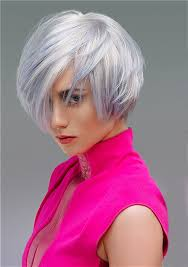 short white hair a short white hairstyle from the autumn winter 2014 colour in