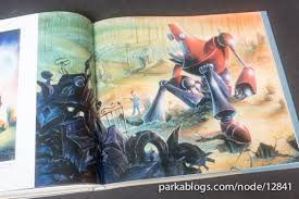 the iron giant book review the art of the iron giant parka blogs