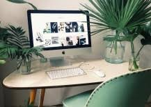 Small Desk Plants by 15 Nature Inspired Home Office Ideas For A Stress Free Work Space