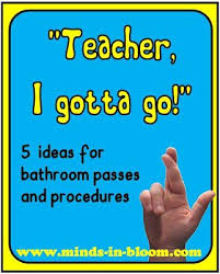 Printable Bathroom Passes 23 Best Routines U0026 Procedures Classroom Images On Pinterest Back
