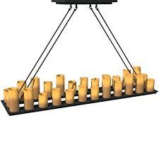 Chandelier Shapes Restoration Hardware Pillar Candle Rectangular Chandelier