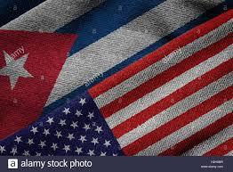 The Flag Of Usa Cuba America Flags Stock Photos U0026 Cuba America Flags Stock Images