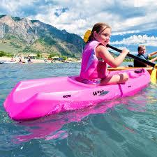 boats u0026 water sports walmart com lifetime 6 u0027 youth kayak with bonus paddle walmart com