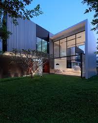 thai home design news l shaped modern residence integrating traditional thai house design