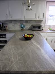White Formica Kitchen Cabinets Formica 180fx Laminate In Soapstone Sequoia With The Ogee Edge