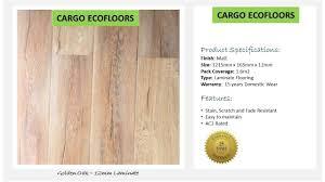Golden Oak Laminate Flooring Cargo Ecofloor Golden Oak 12mm Laminate Price Per Square