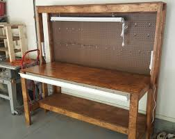 diy garage workbench plans pratt family blog diy garage work bench plans