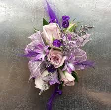 purple corsage lively lilac corsage cw01 in louis mo alex waldbart florist