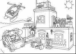 extraordinary design police coloring pages print superb lego