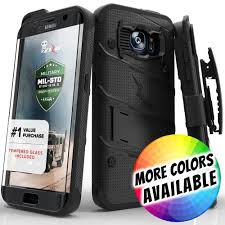 Samsung Galaxy Rugged Samsung Galaxy S7 Edge Bolt Heavy Duty Rugged Case Holster And