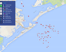 Map Of Mexico Coast by Something Very Strange Is Taking Place Off The Coast Of Galveston