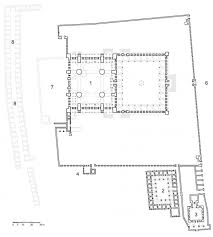 floor plan of mosque structure and form of the mosque blue mosque sultanahmet camii