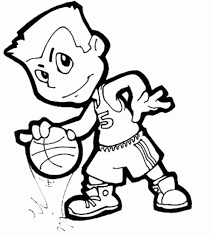 30 basketball coloring pages coloringstar