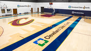 Map Of Cleveland Clinic Cleveland Cavaliers And Cleveland Clinic Announce Long Term