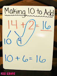 miss giraffe u0027s class making a 10 to add