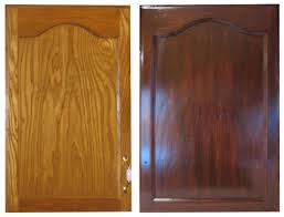 Gel Staining Kitchen Cabinets Instructions Using The Gel Stain We - Easiest way to refinish kitchen cabinets