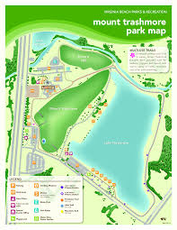 Virginia Beach Maps by Mt Trashmore Park Great Runs