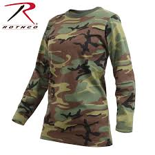 rothco womens long sleeve camo t shirt