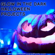 Halloween Glow Projects and Activities