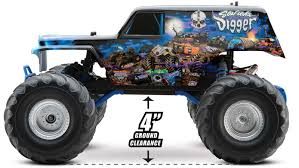traxxas son uva digger 1 10 scale 2wd monster truck rc media