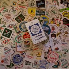 100 german pub famous brand beer mats coasters all different