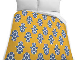 Electric Blue Duvet Cover Twin Duvet Cover Etsy