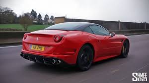 Ferrari California Black - driving home in the ferrari california t youtube