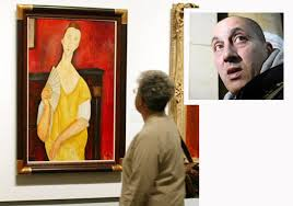 modigliani woman with a fan spiderman thief gets eight years for 100m paris art heist