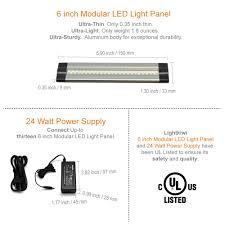 led under cabinet lighting warm white 6 inch warm white modular led under cabinet lighting pro kit 12