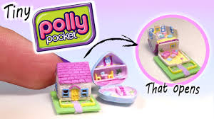 miniature polly pocket dollhouse tutorial diy miniature