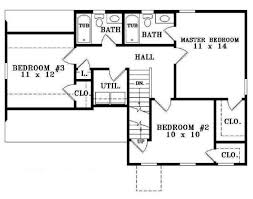 floor plans for a 4 bedroom house unique simple four bedroom house plans terrific 7 house floor